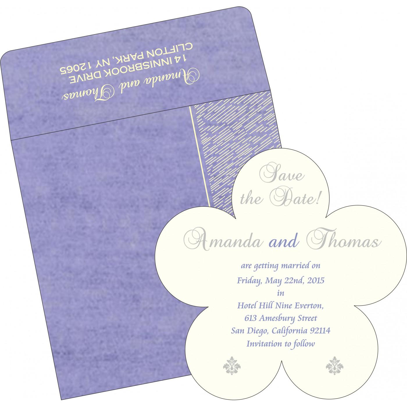 Save The Date Cards : STD-8209C - 123WeddingCards