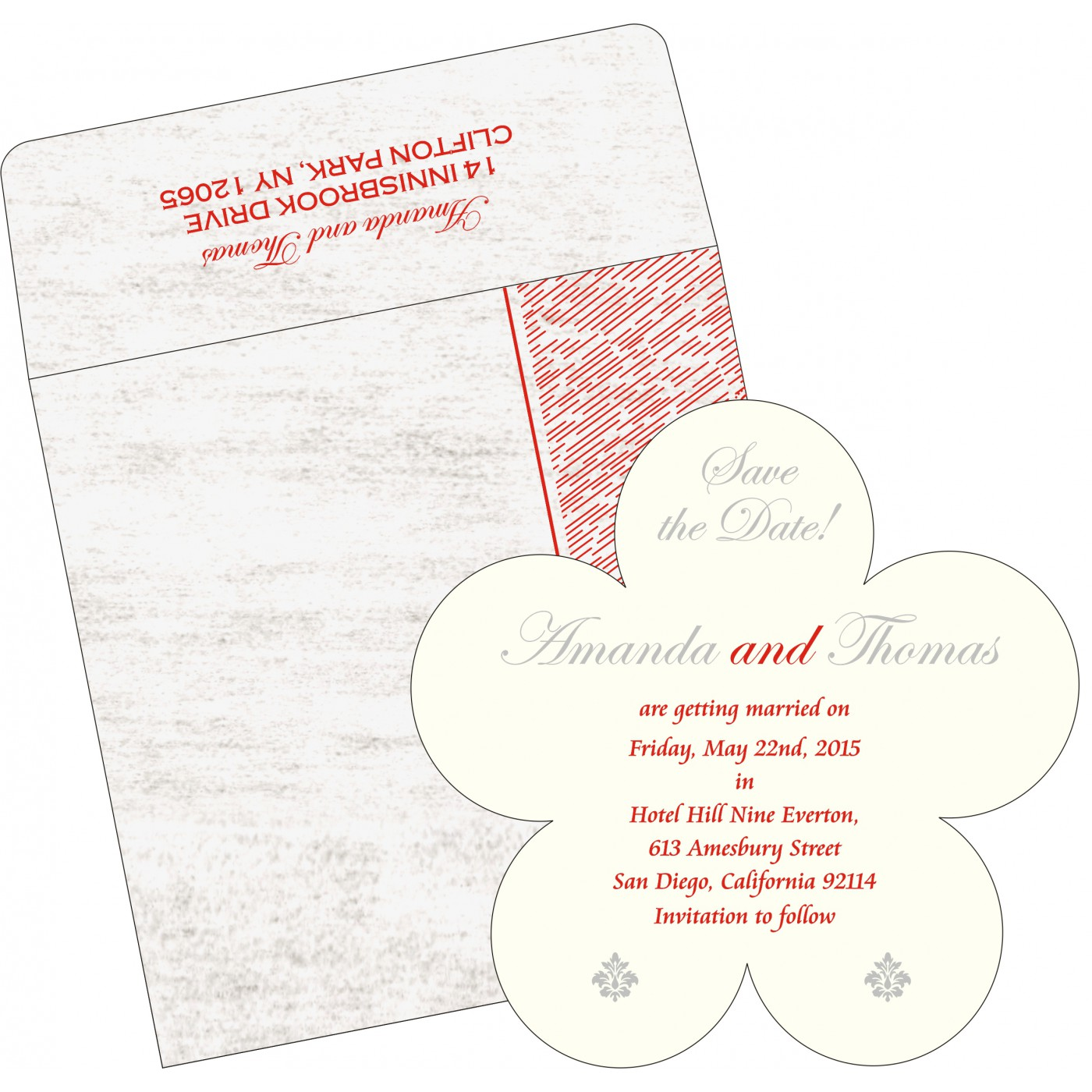 Save The Date Cards : STD-8209N - 123WeddingCards
