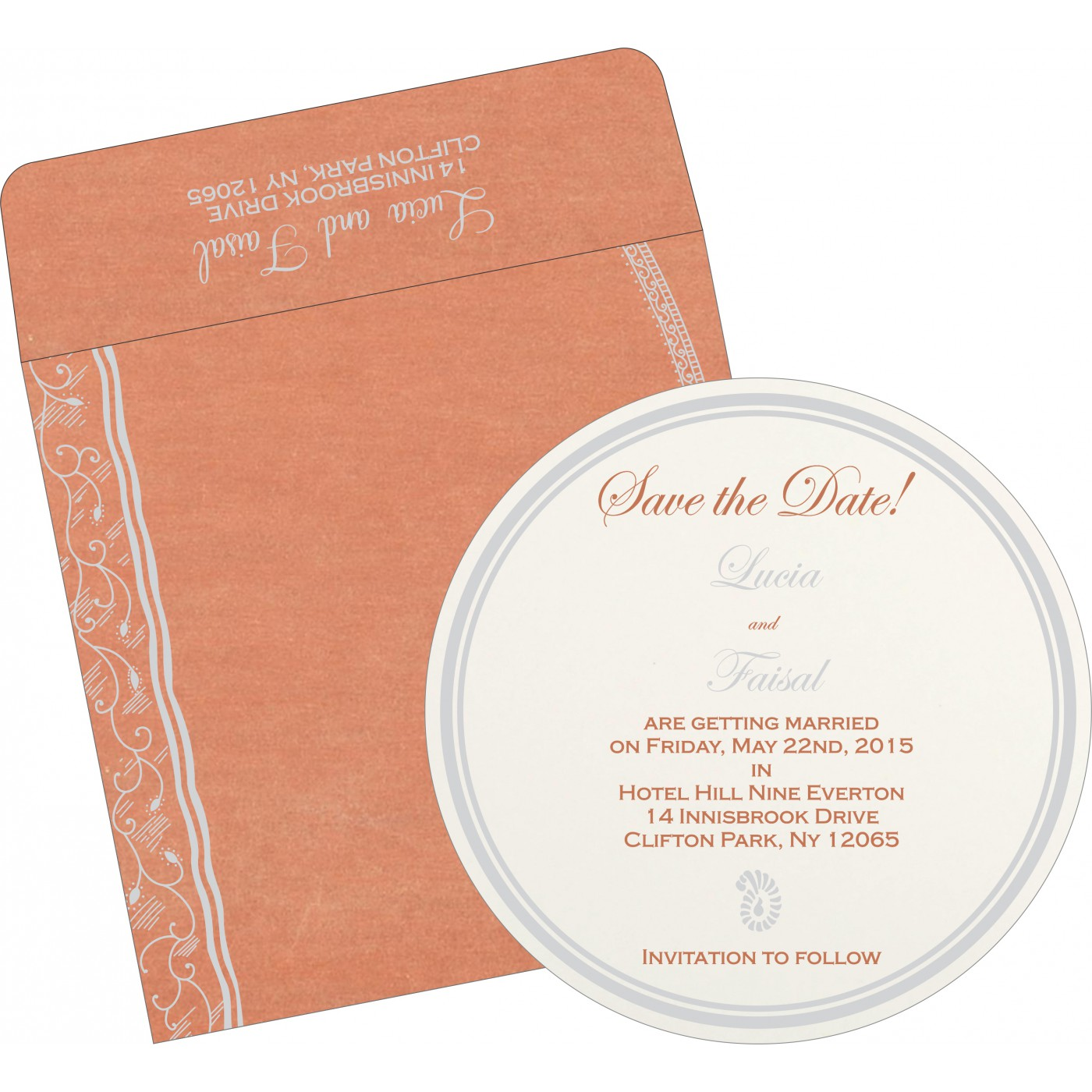 Save The Date Cards : STD-8210M - 123WeddingCards