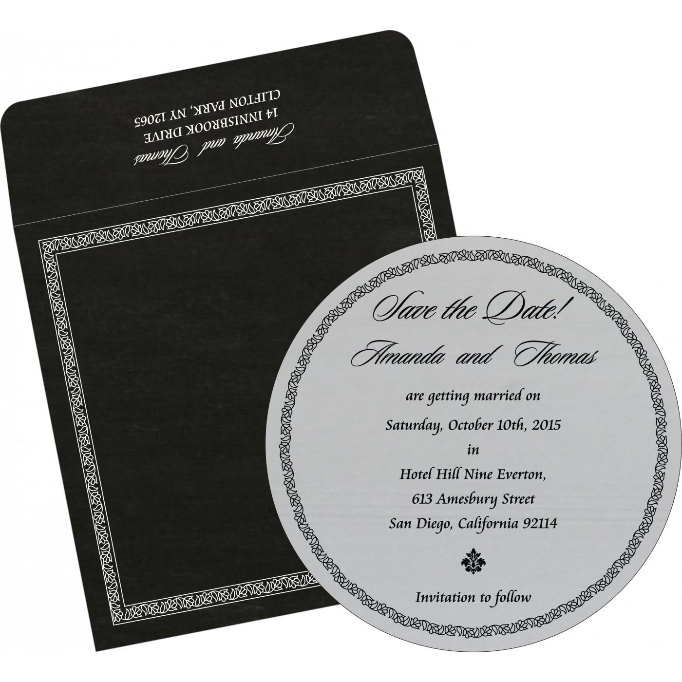 Save The Date Cards : STD-8211B - 123WeddingCards