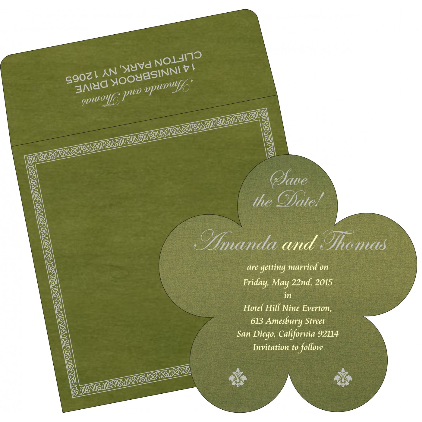 Save The Date Cards : STD-8211M - 123WeddingCards