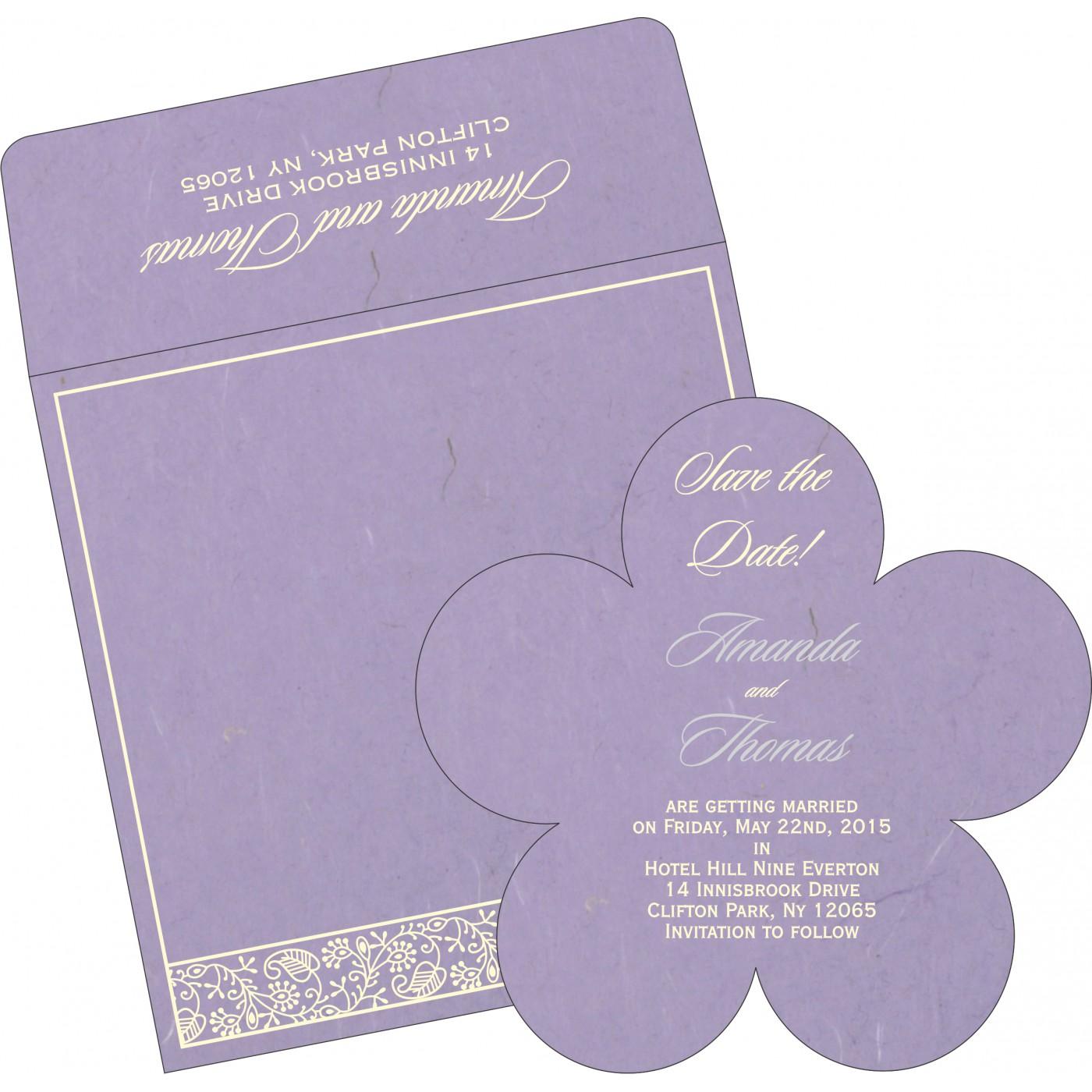 Save The Date Cards : STD-8215B - 123WeddingCards