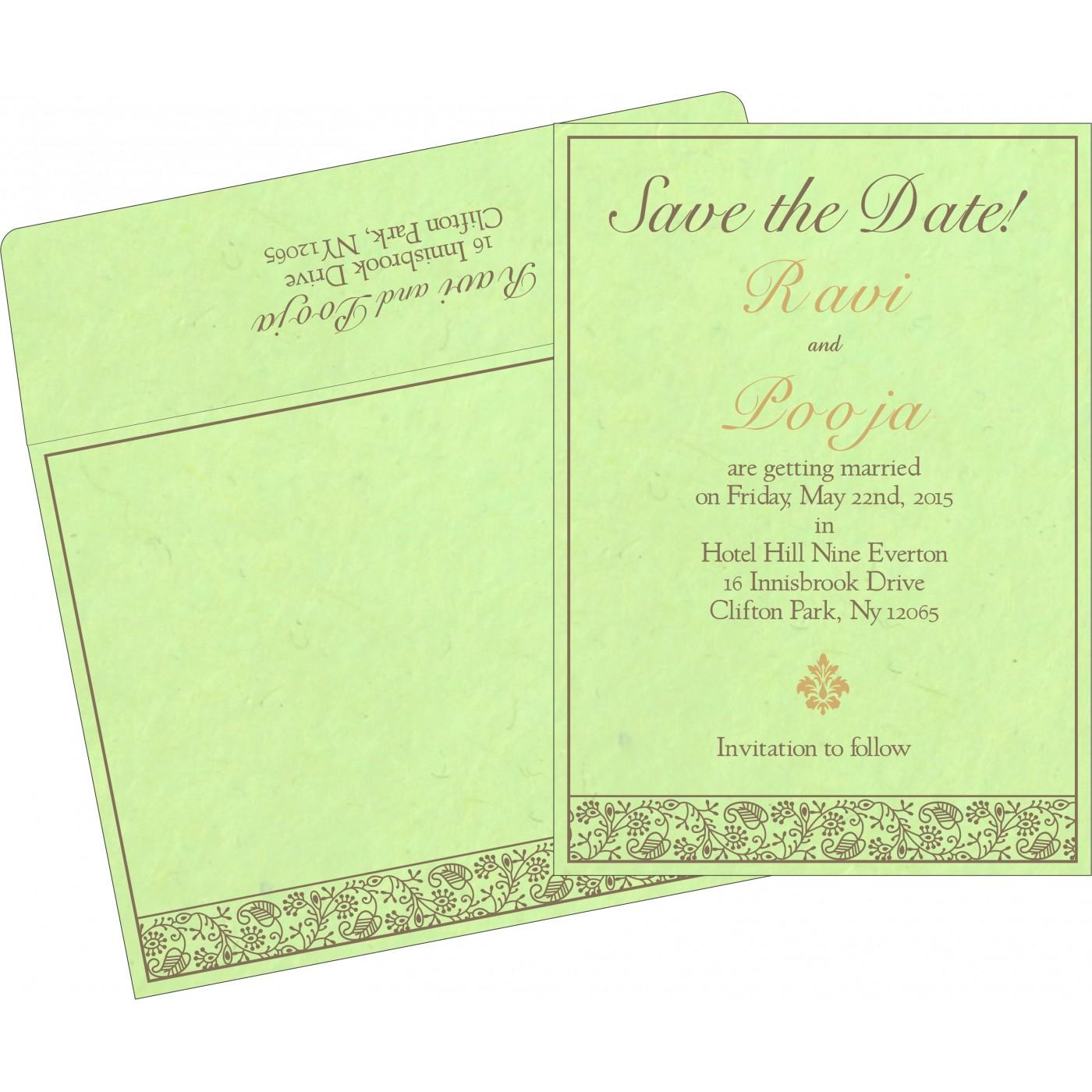 Save The Date Cards : STD-8215D - 123WeddingCards