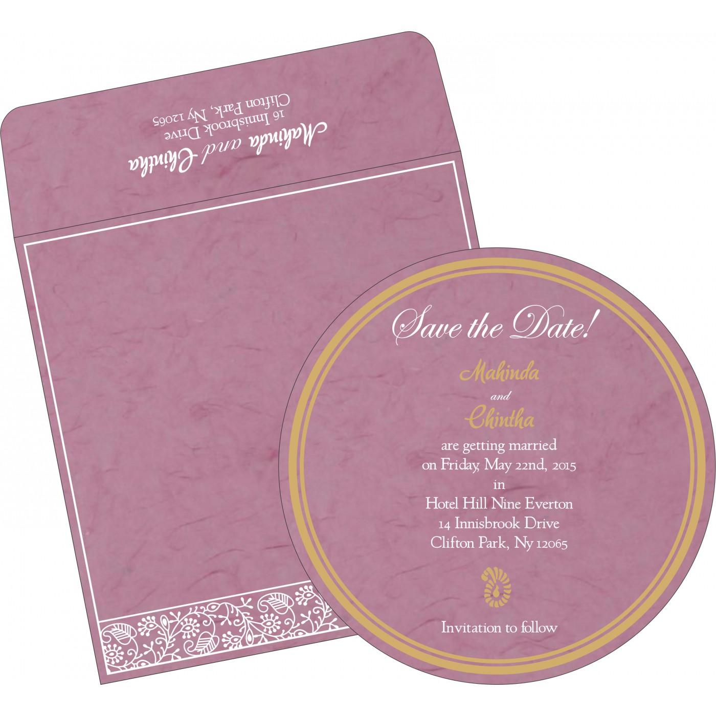 Save The Date Cards : STD-8215J - 123WeddingCards
