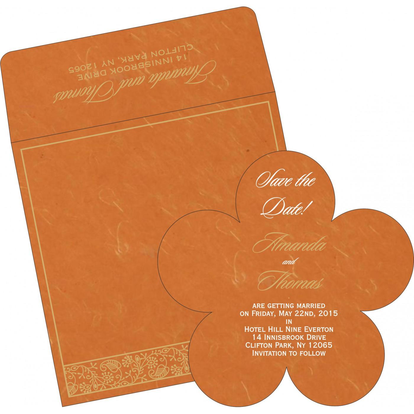 Save The Date Cards : STD-8215L - 123WeddingCards