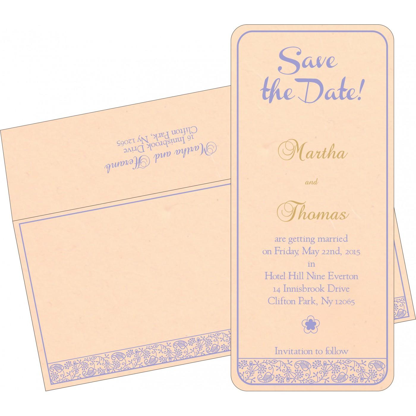 Save The Date Cards : STD-8215M - 123WeddingCards