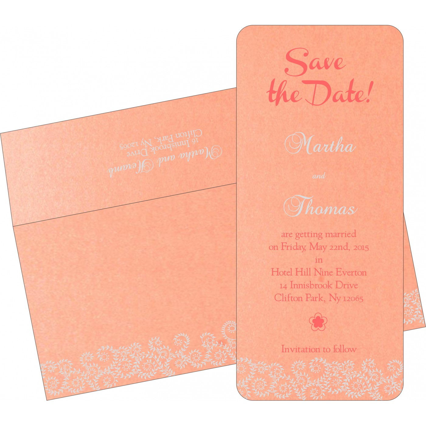Save The Date Cards : STD-8217E - 123WeddingCards