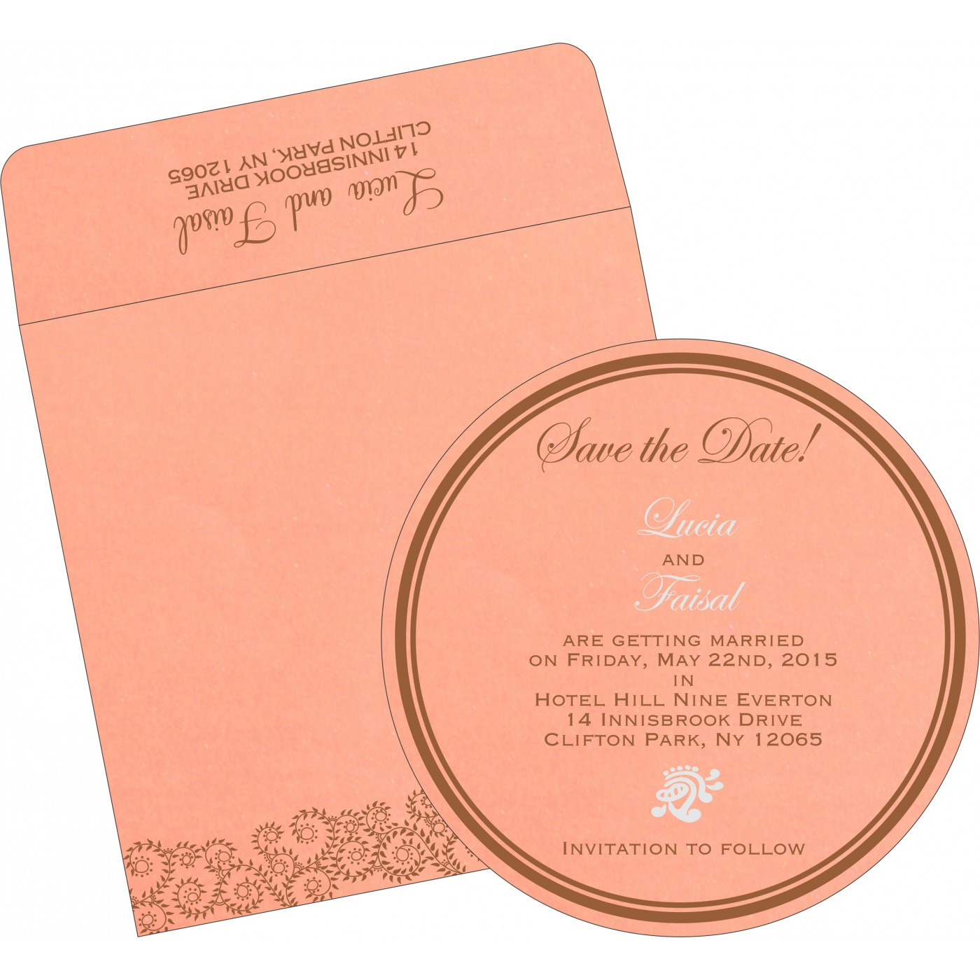 Save The Date Cards : STD-8217N - 123WeddingCards