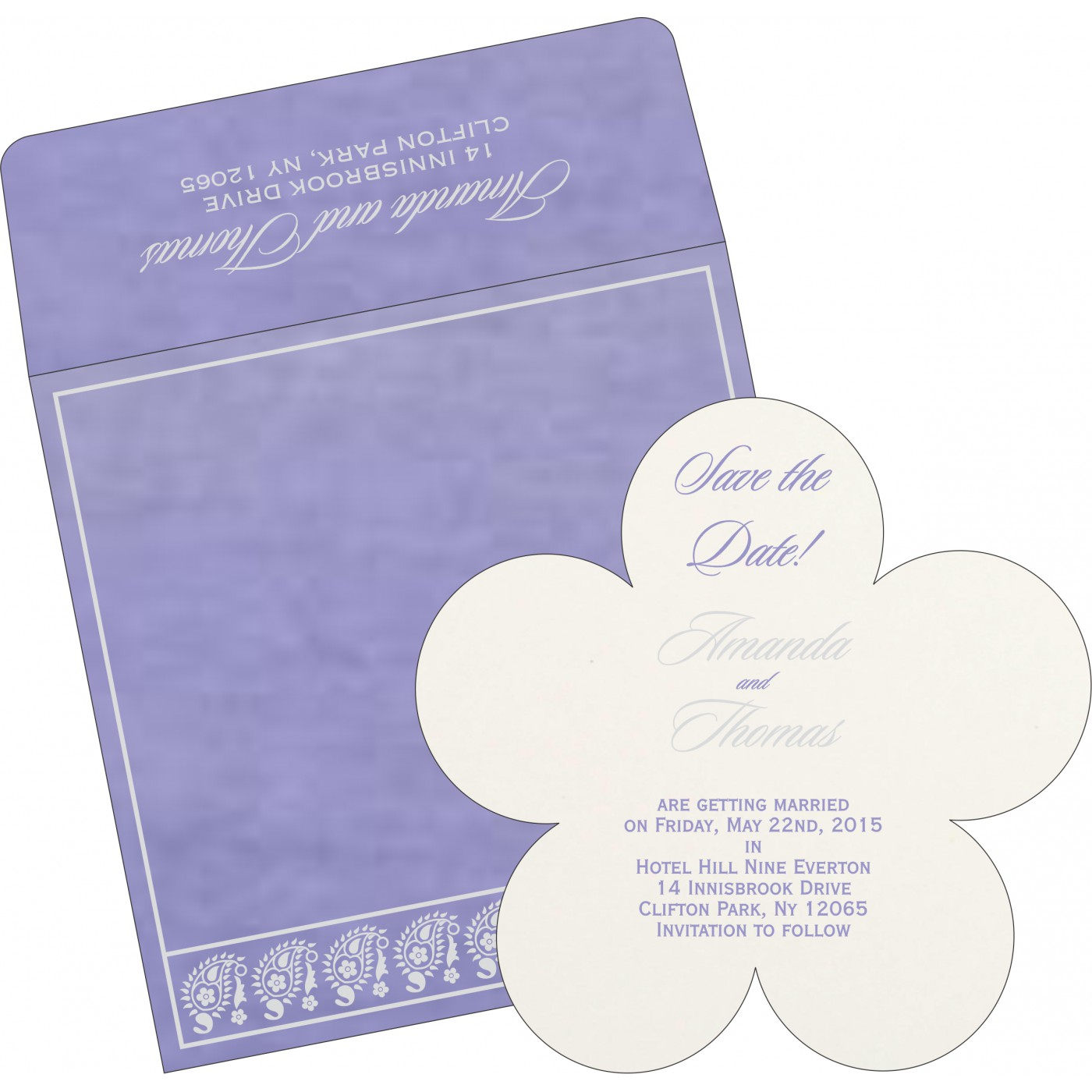 Save The Date Cards : STD-8218H - 123WeddingCards