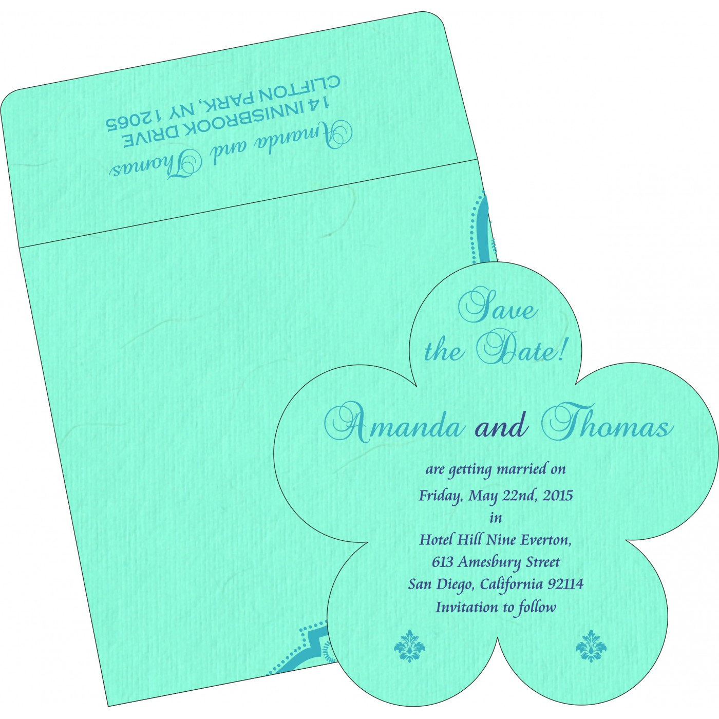 Save The Date Cards : STD-8219C - 123WeddingCards