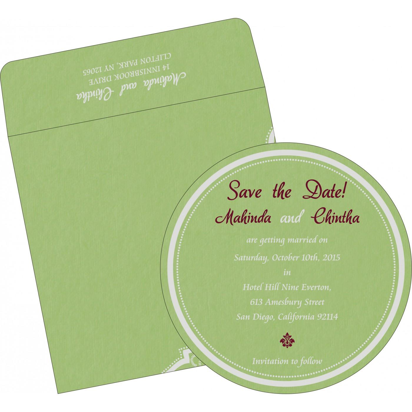Save The Date Cards : STD-8219J - 123WeddingCards