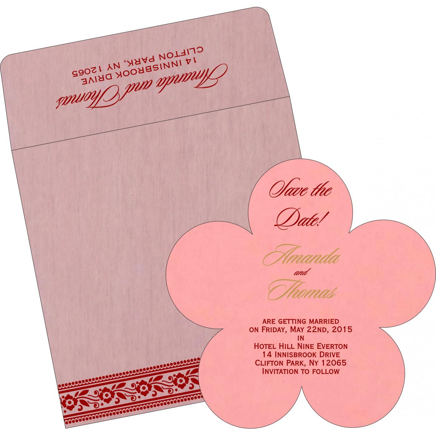 Save The Date Cards : STD-8220J - 123WeddingCards