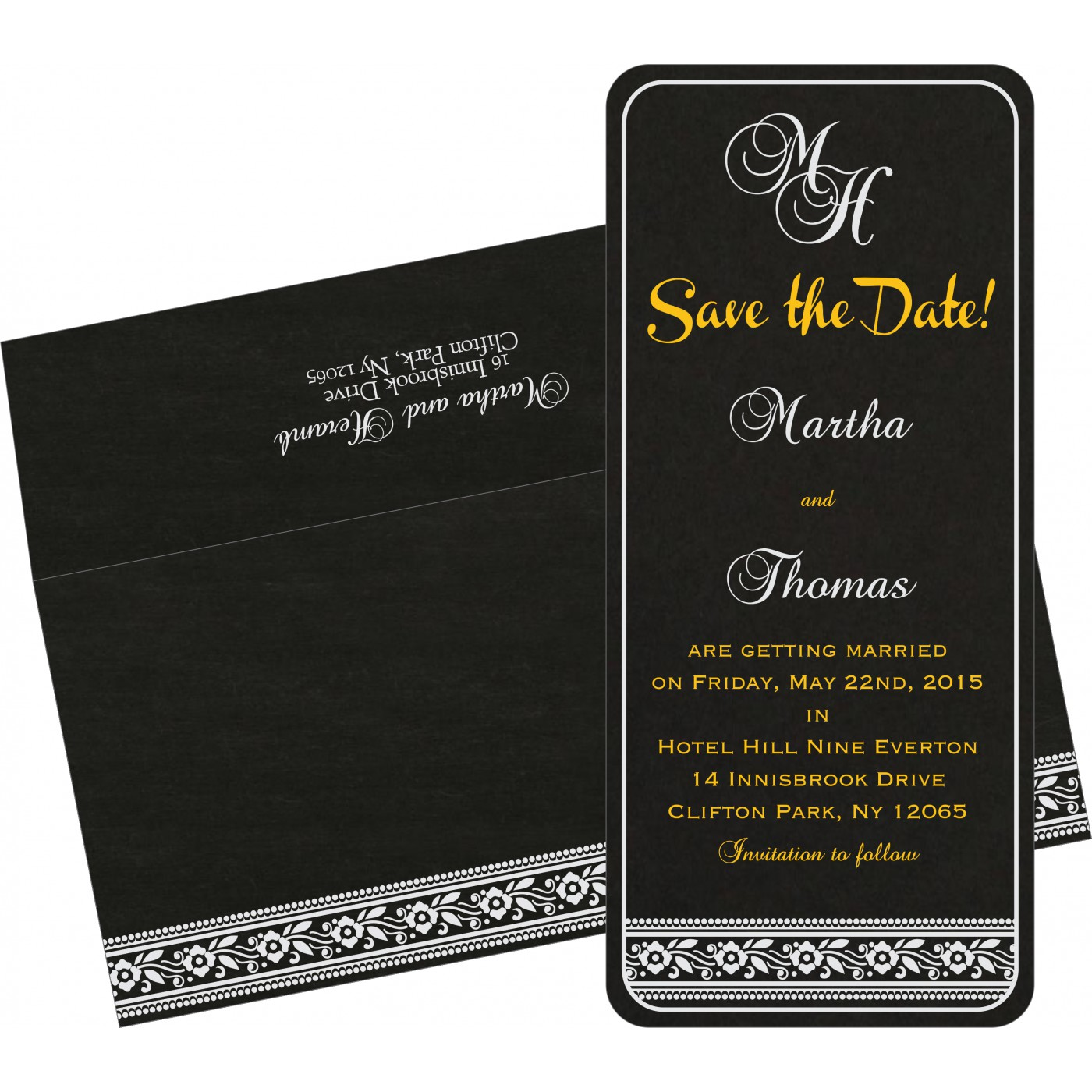 Save The Date Cards : STD-8220K - 123WeddingCards
