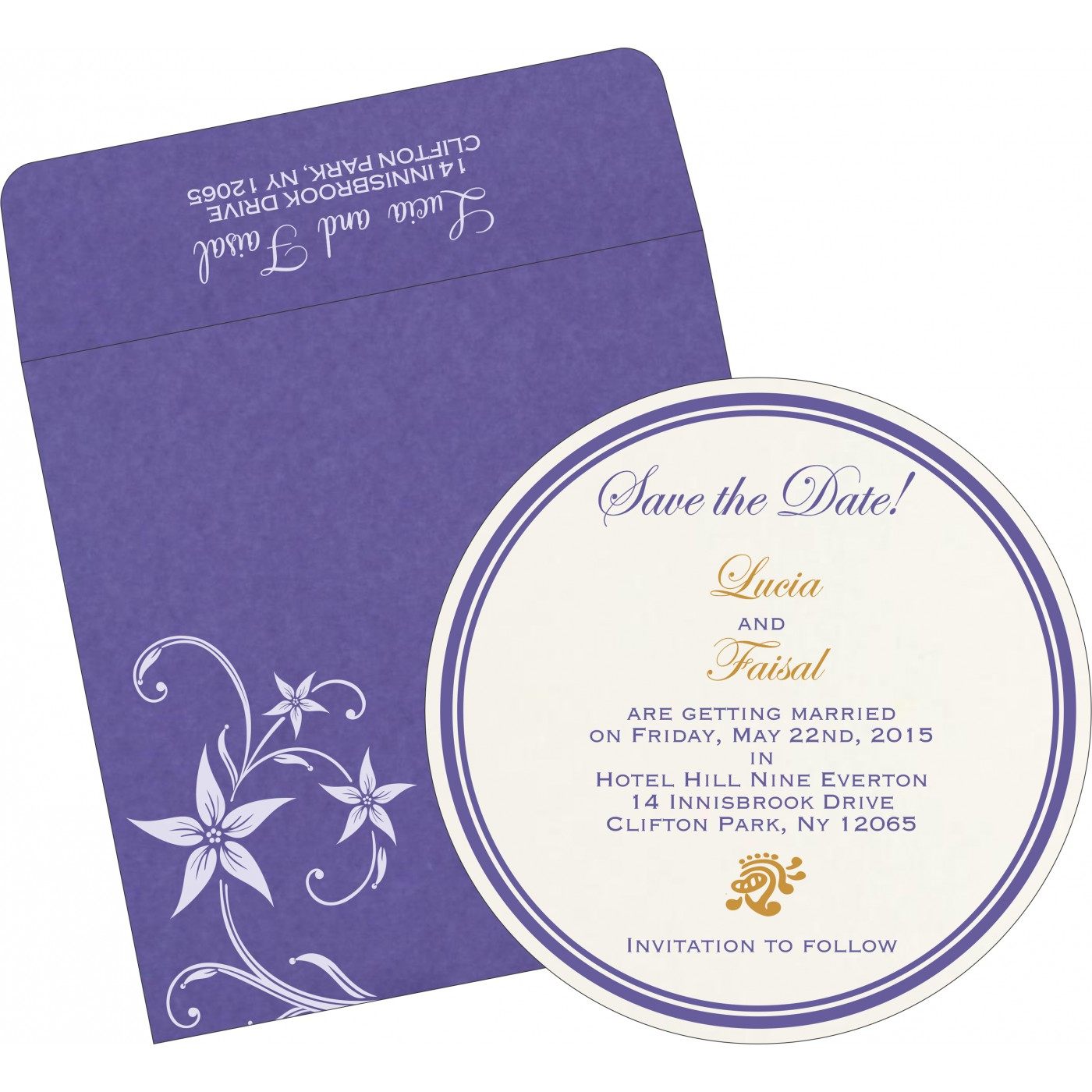 Save The Date Cards : STD-8225H - 123WeddingCards