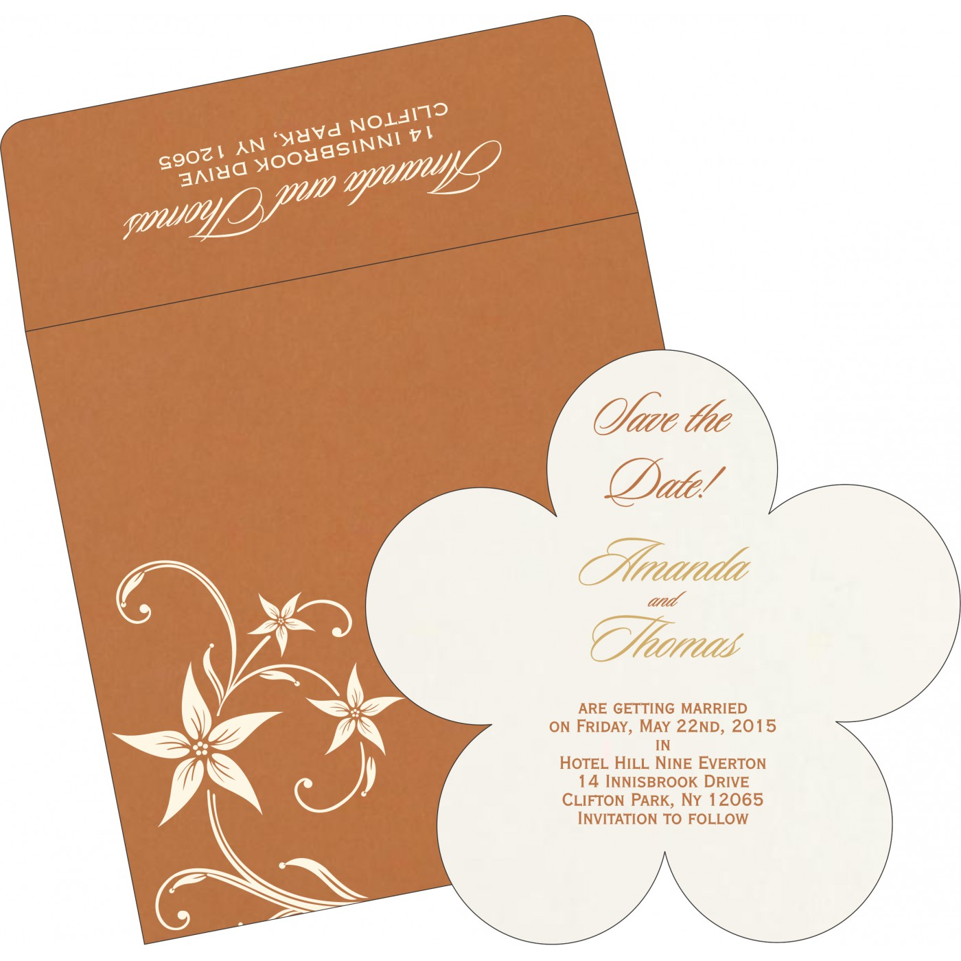 Save The Date Cards : STD-8225J - 123WeddingCards
