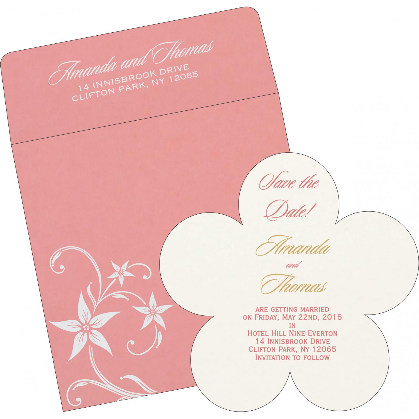 Save The Date Cards : STD-8225M - 123WeddingCards