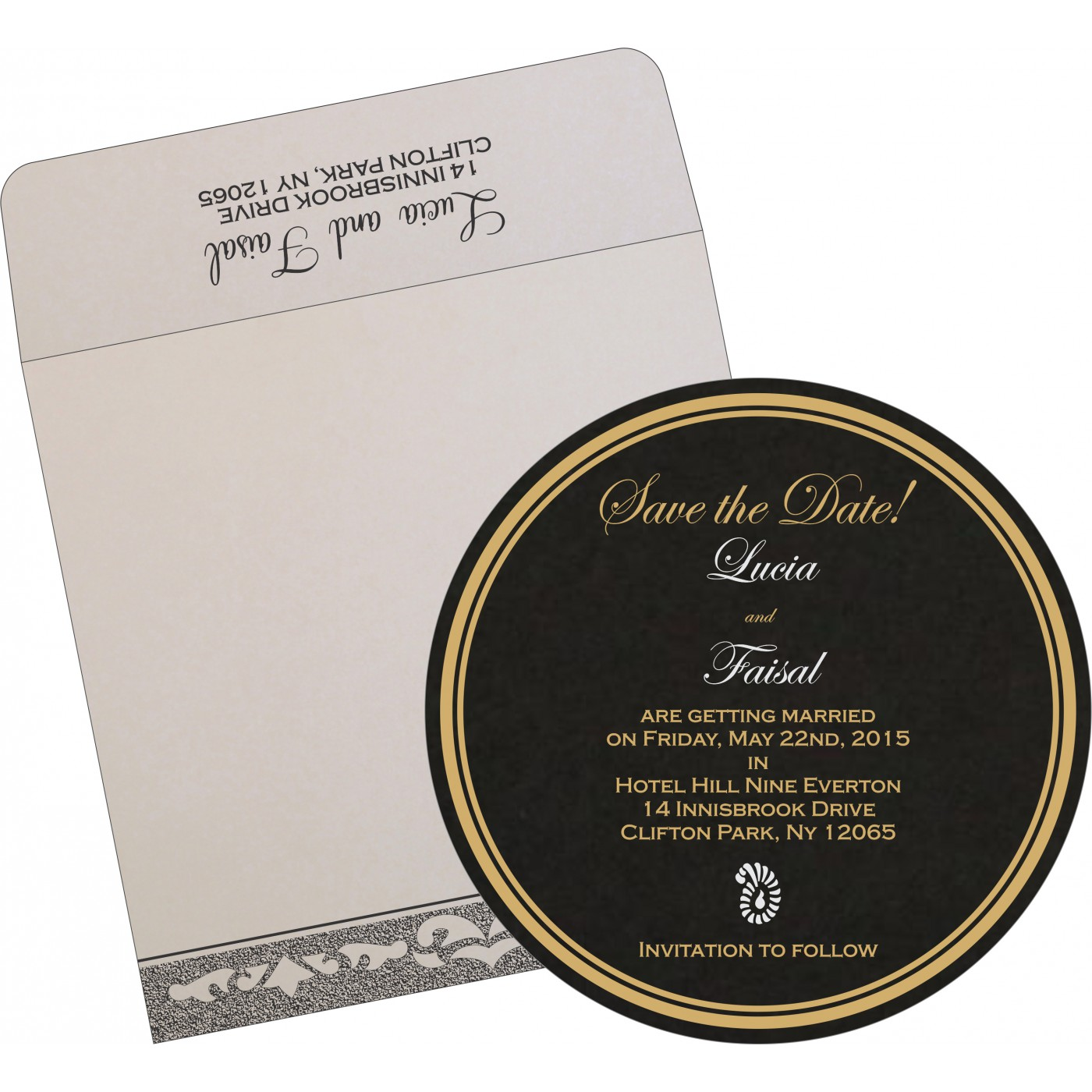 Save The Date Cards : STD-8227A - 123WeddingCards