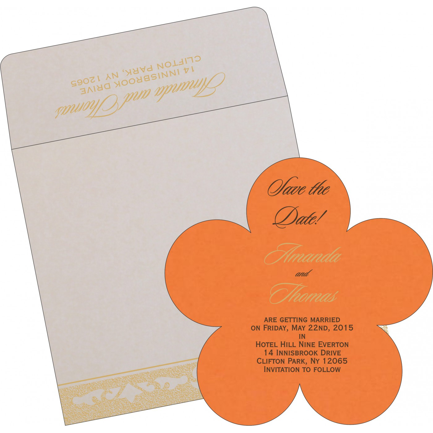 Save The Date Cards : STD-8227D - 123WeddingCards