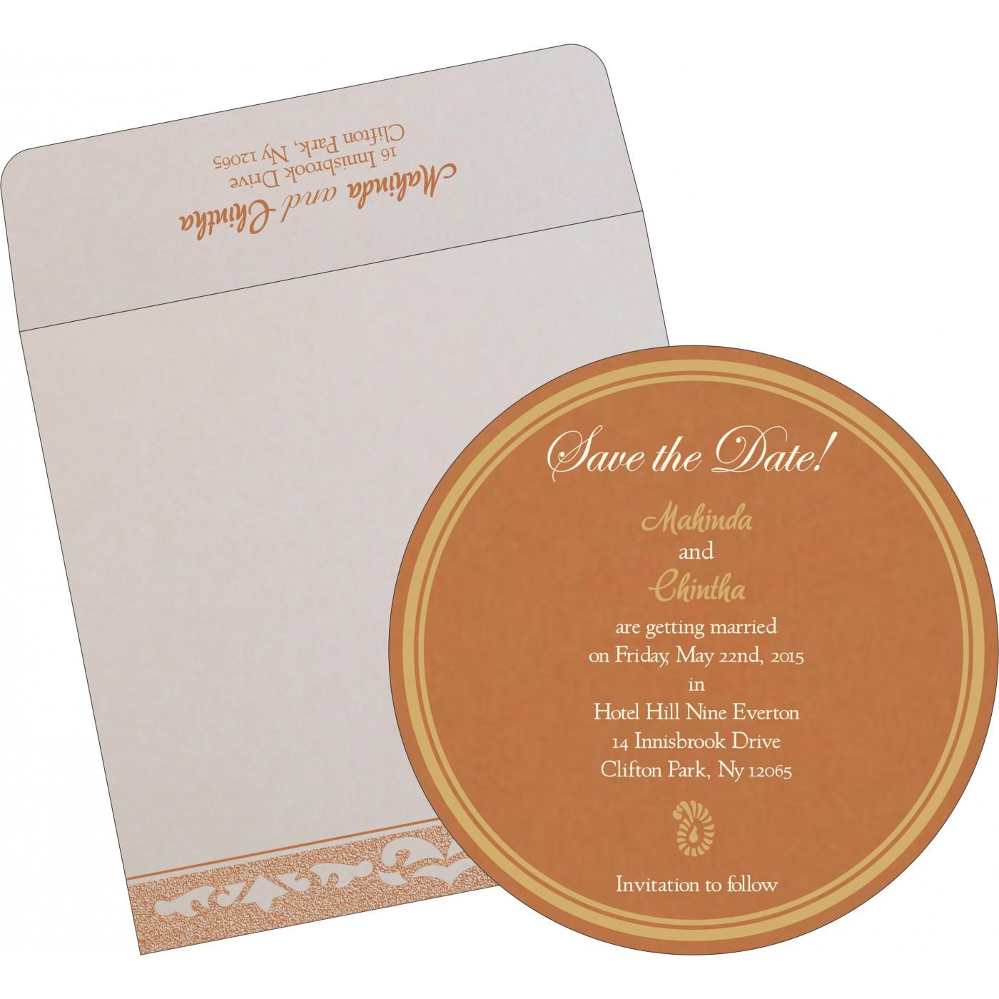 Save The Date Cards : STD-8227H - 123WeddingCards