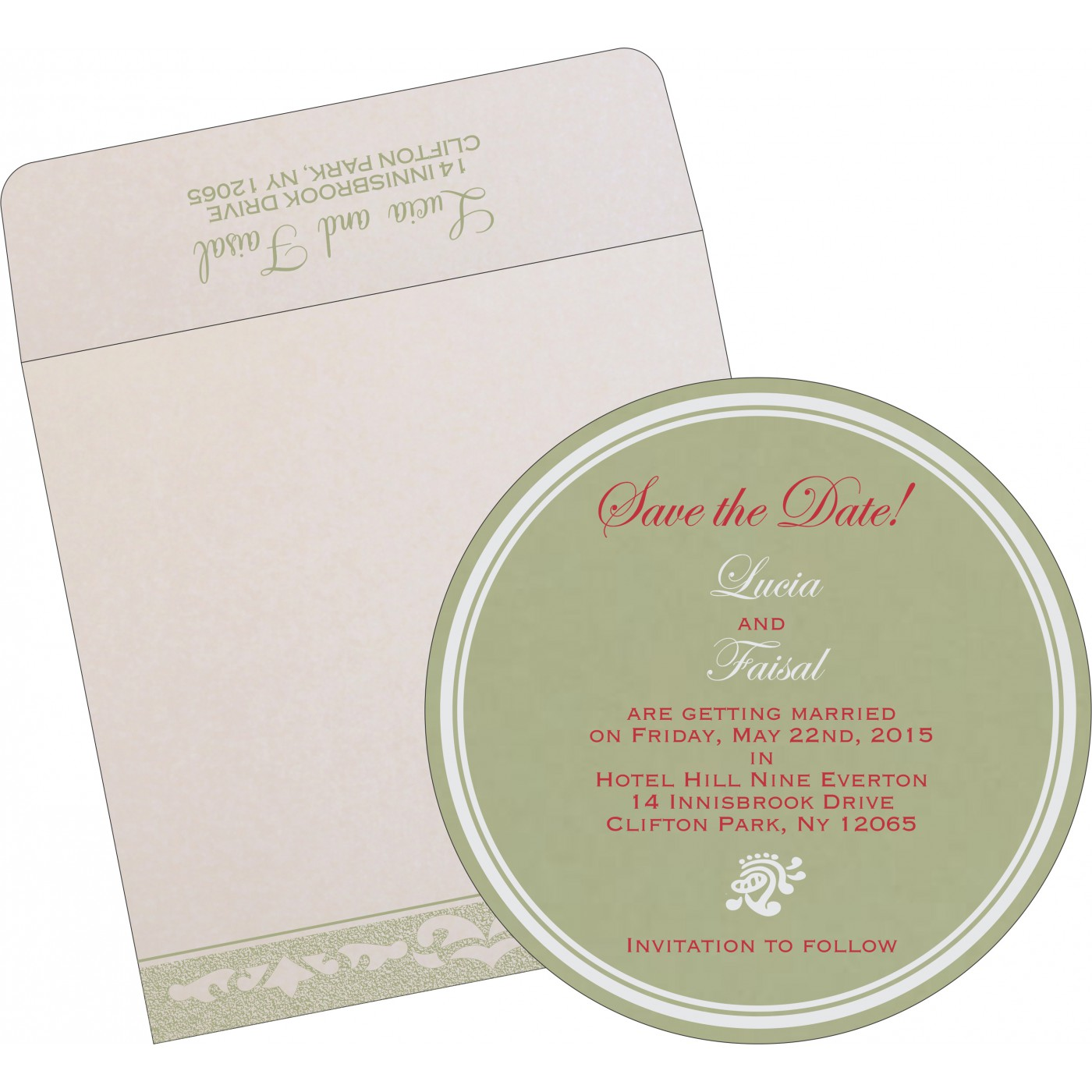 Save The Date Cards : STD-8227J - 123WeddingCards
