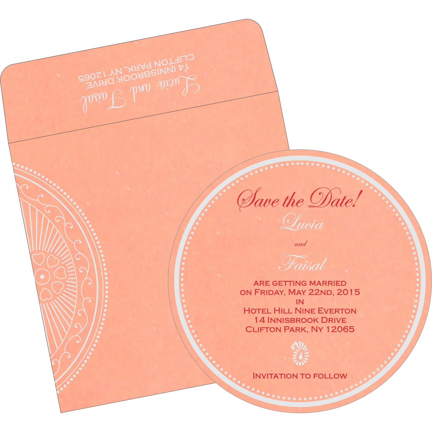 Save The Date Cards : STD-8230A - 123WeddingCards