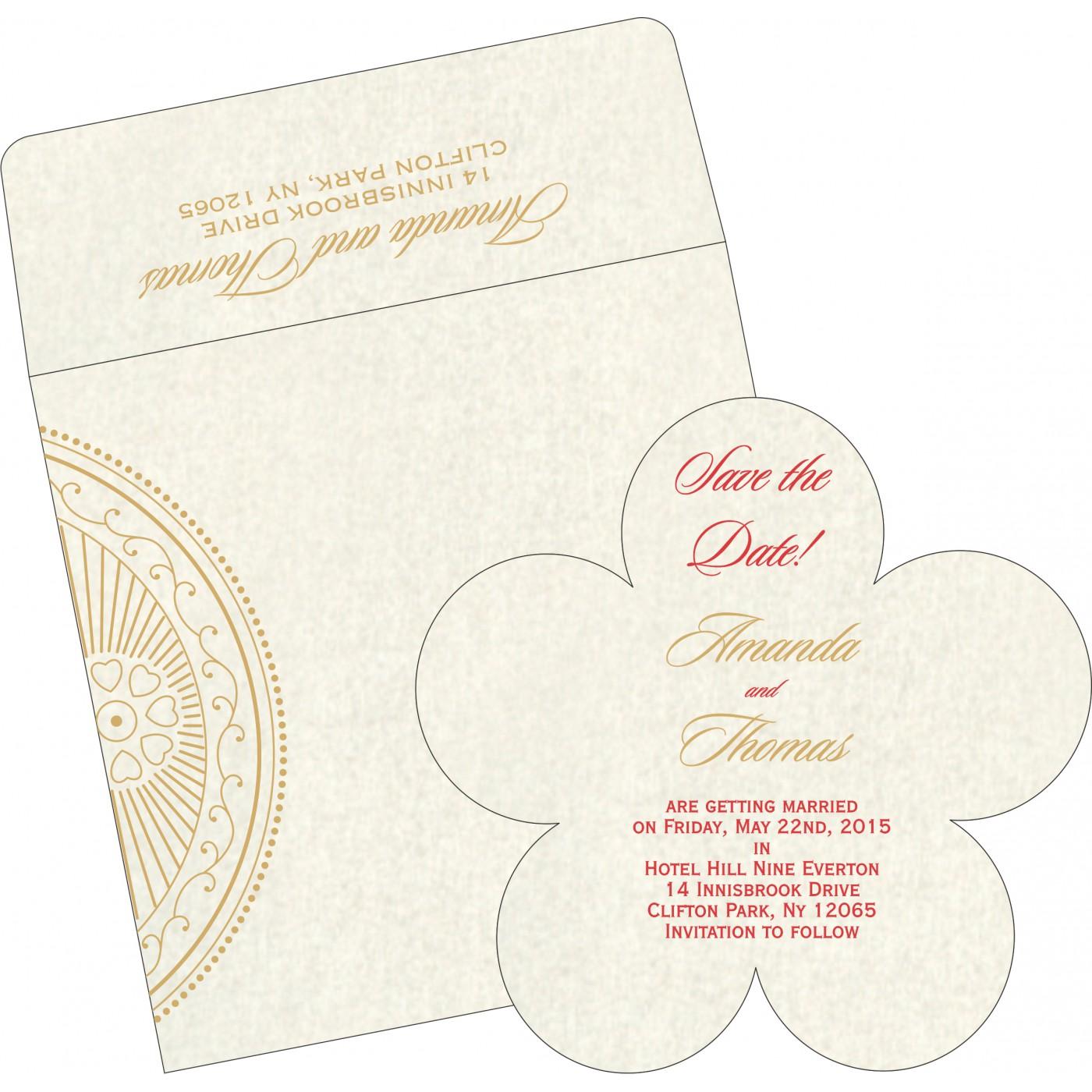 Save The Date Cards : STD-8230O - 123WeddingCards