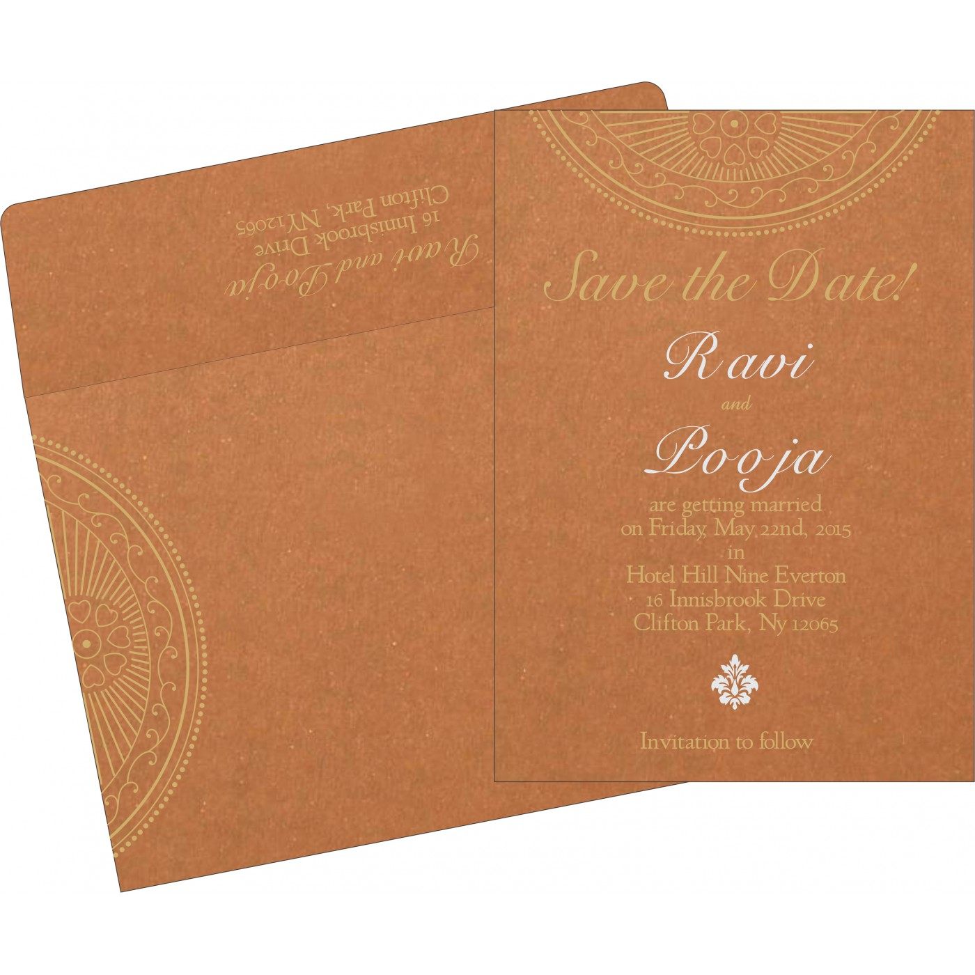Save The Date Cards : STD-8230Q - 123WeddingCards