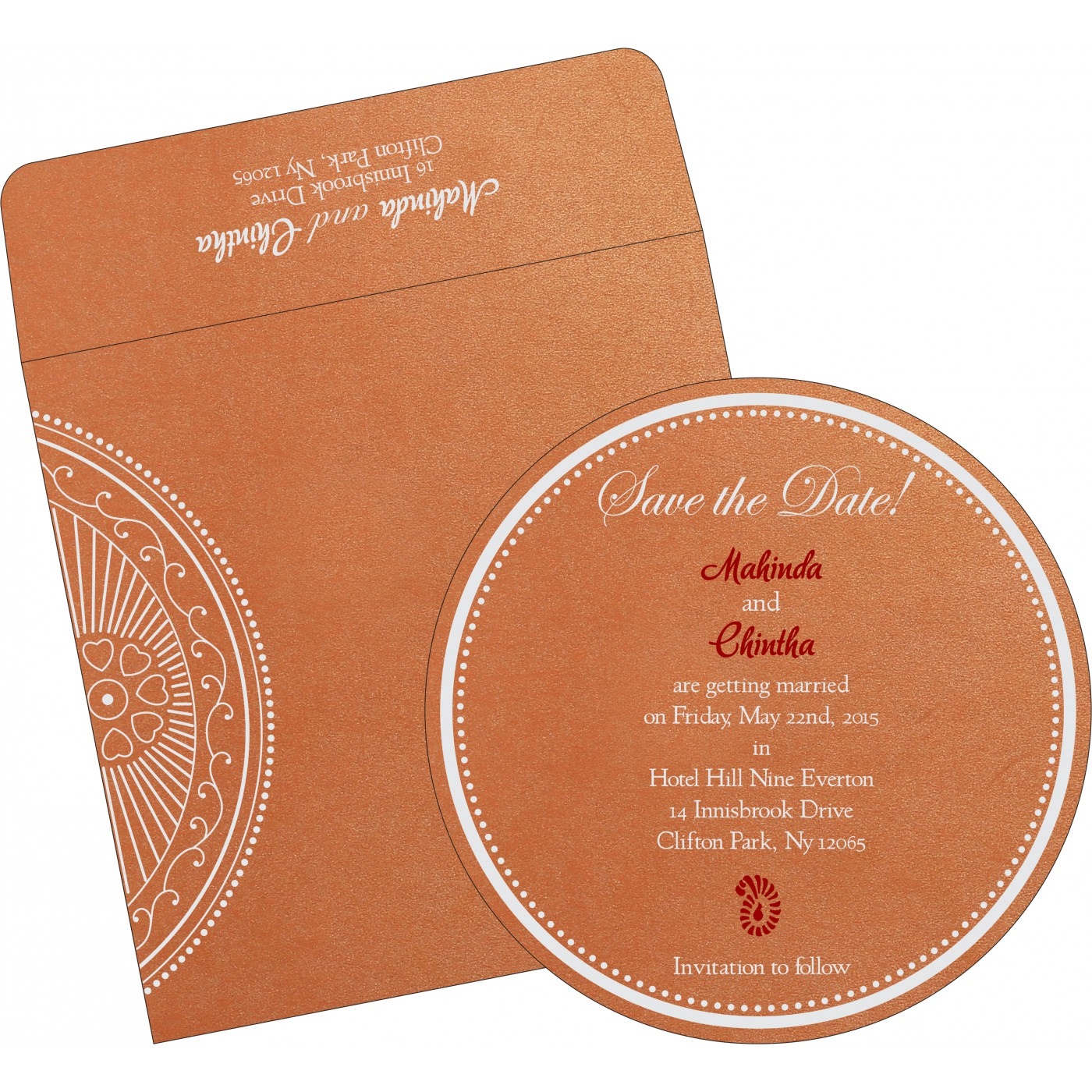 Save The Date Cards : STD-8230T - 123WeddingCards