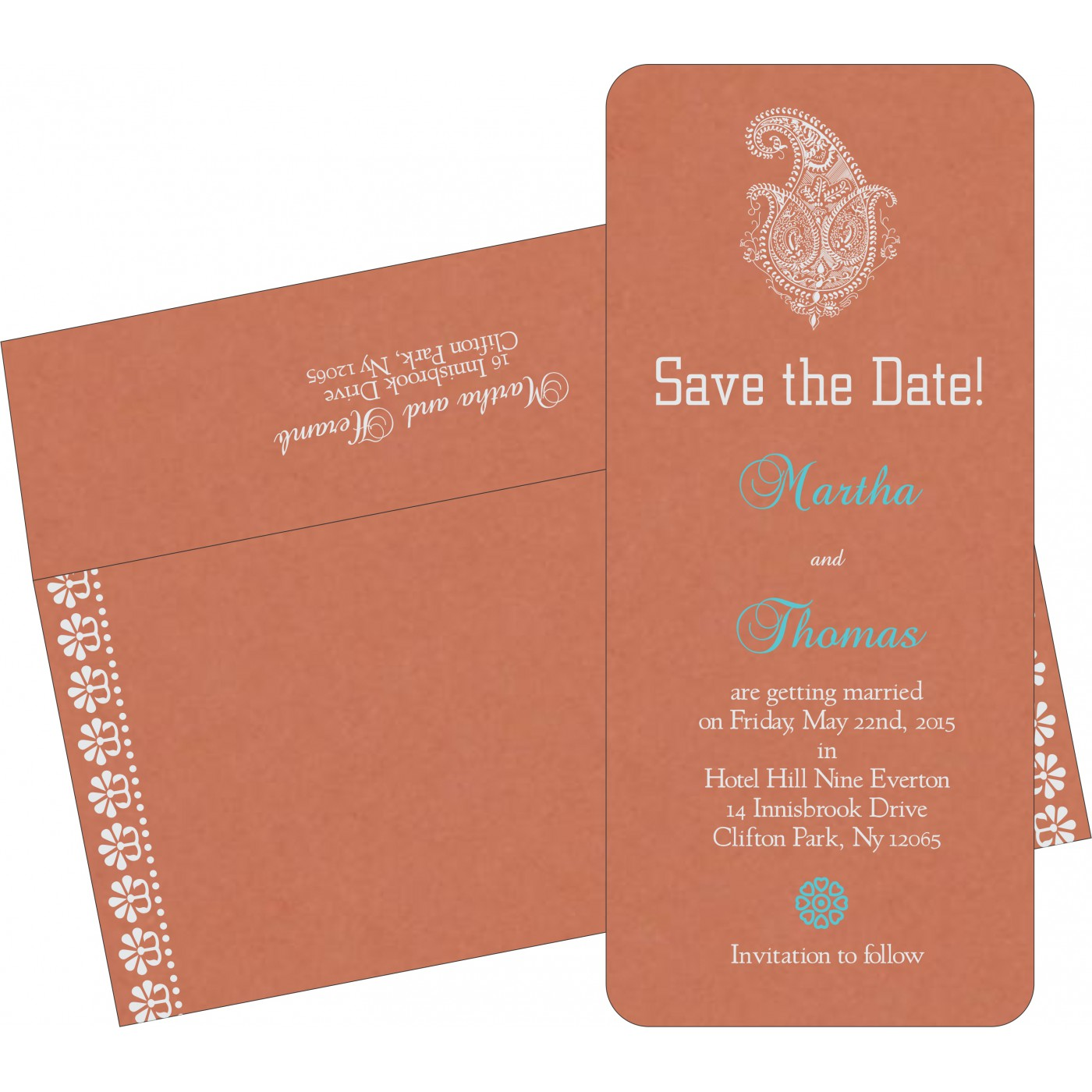 Save The Date Cards : STD-8231E - 123WeddingCards