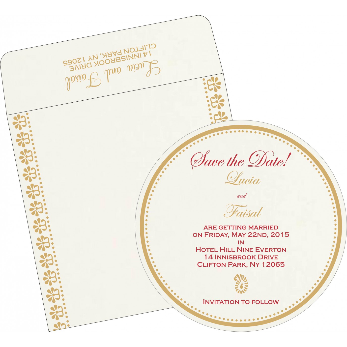 Save The Date Cards : STD-8231J - 123WeddingCards