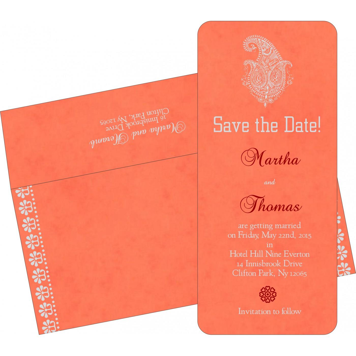 Save The Date Cards : STD-8231M - 123WeddingCards
