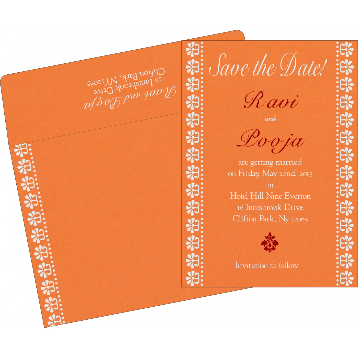 Save The Date Cards : STD-8231N - 123WeddingCards