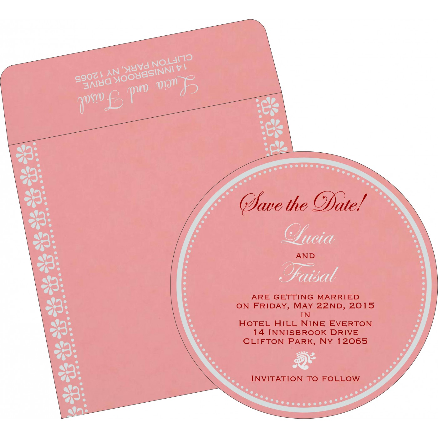 Save The Date Cards : STD-8231P - 123WeddingCards