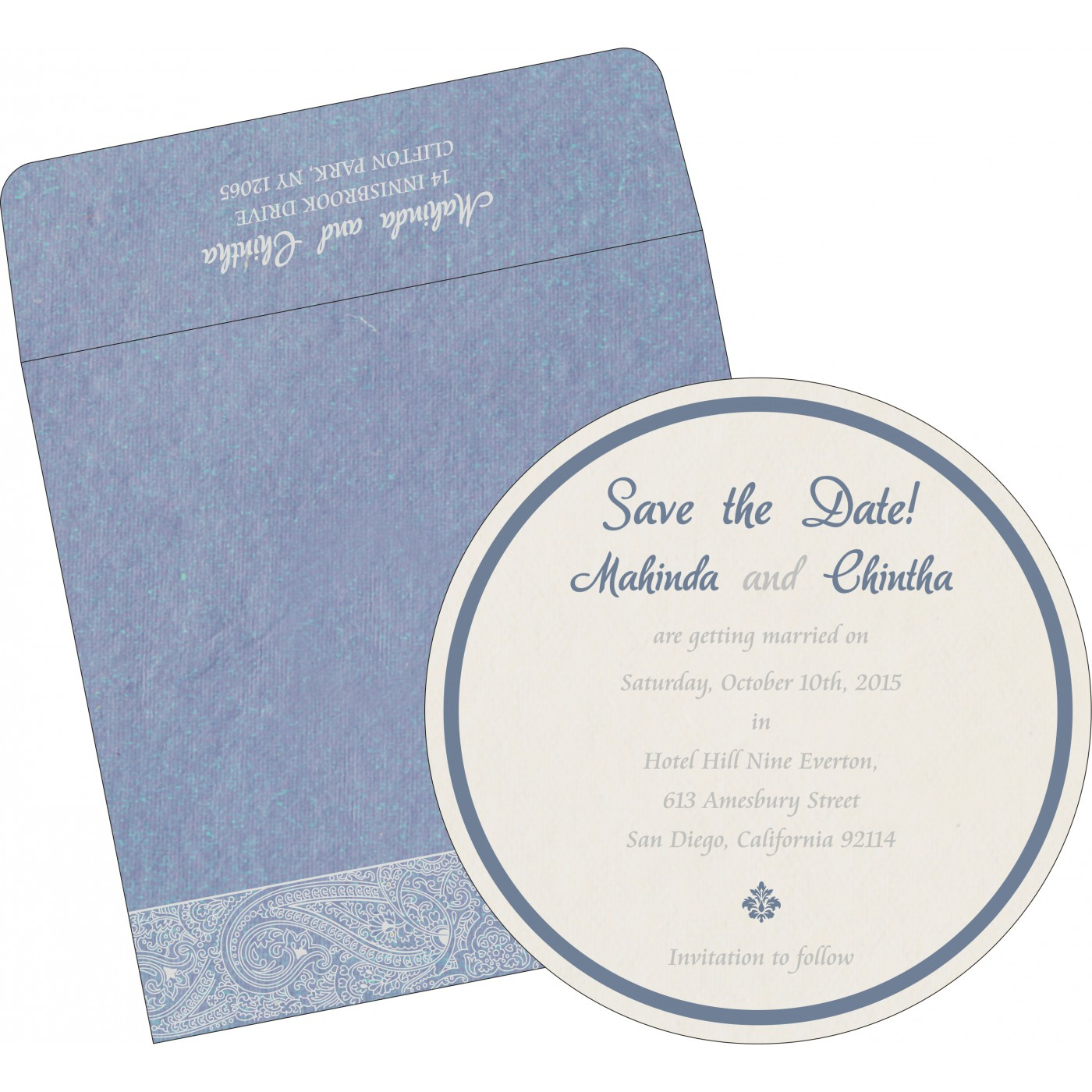 Save The Date Cards : STD-8234J - 123WeddingCards