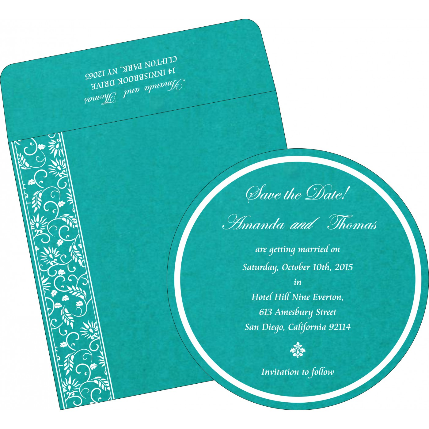 Save The Date Cards : STD-8236J - 123WeddingCards