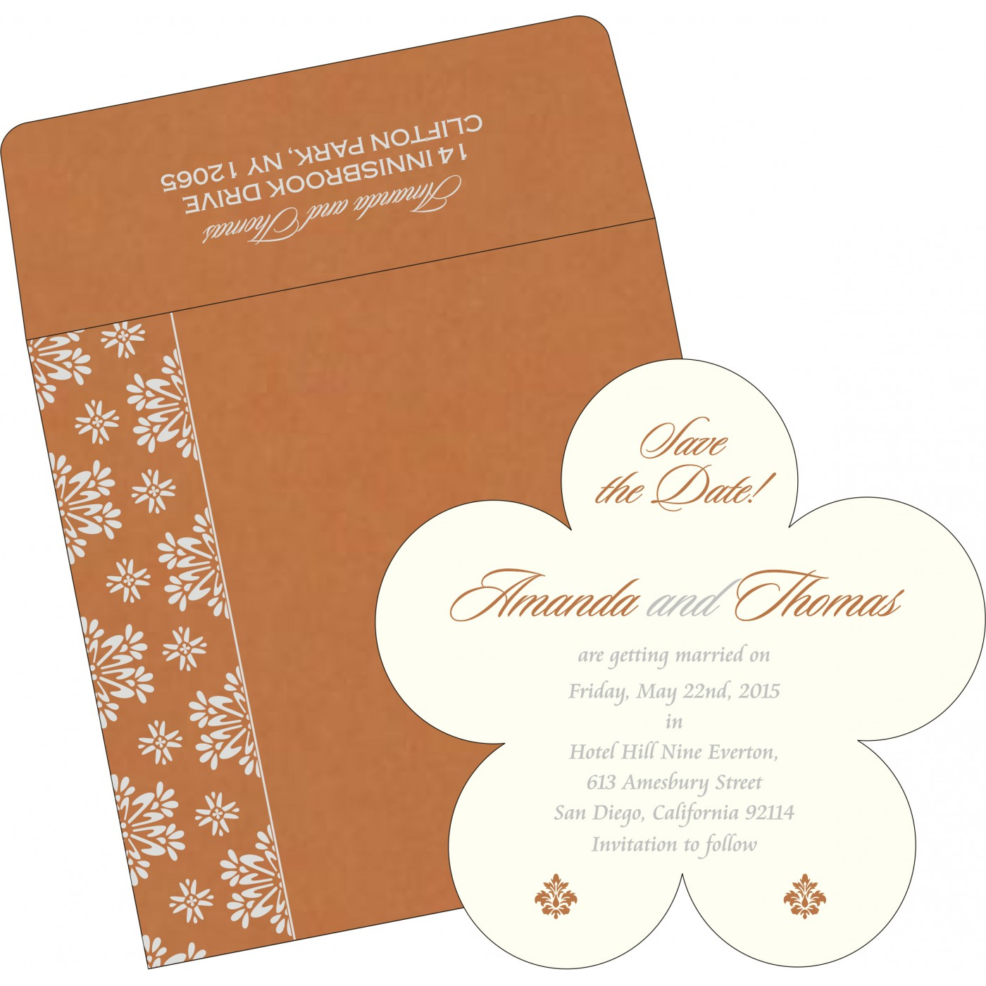 Save The Date Cards : STD-8237J - 123WeddingCards