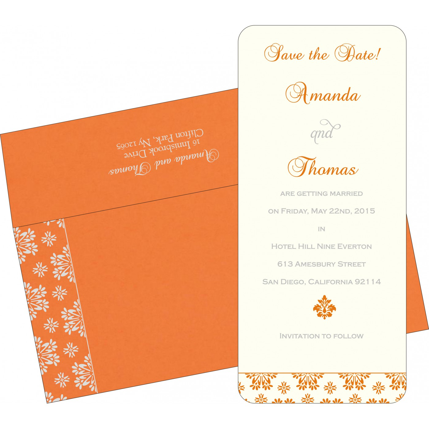 Save The Date Cards : STD-8237K - 123WeddingCards