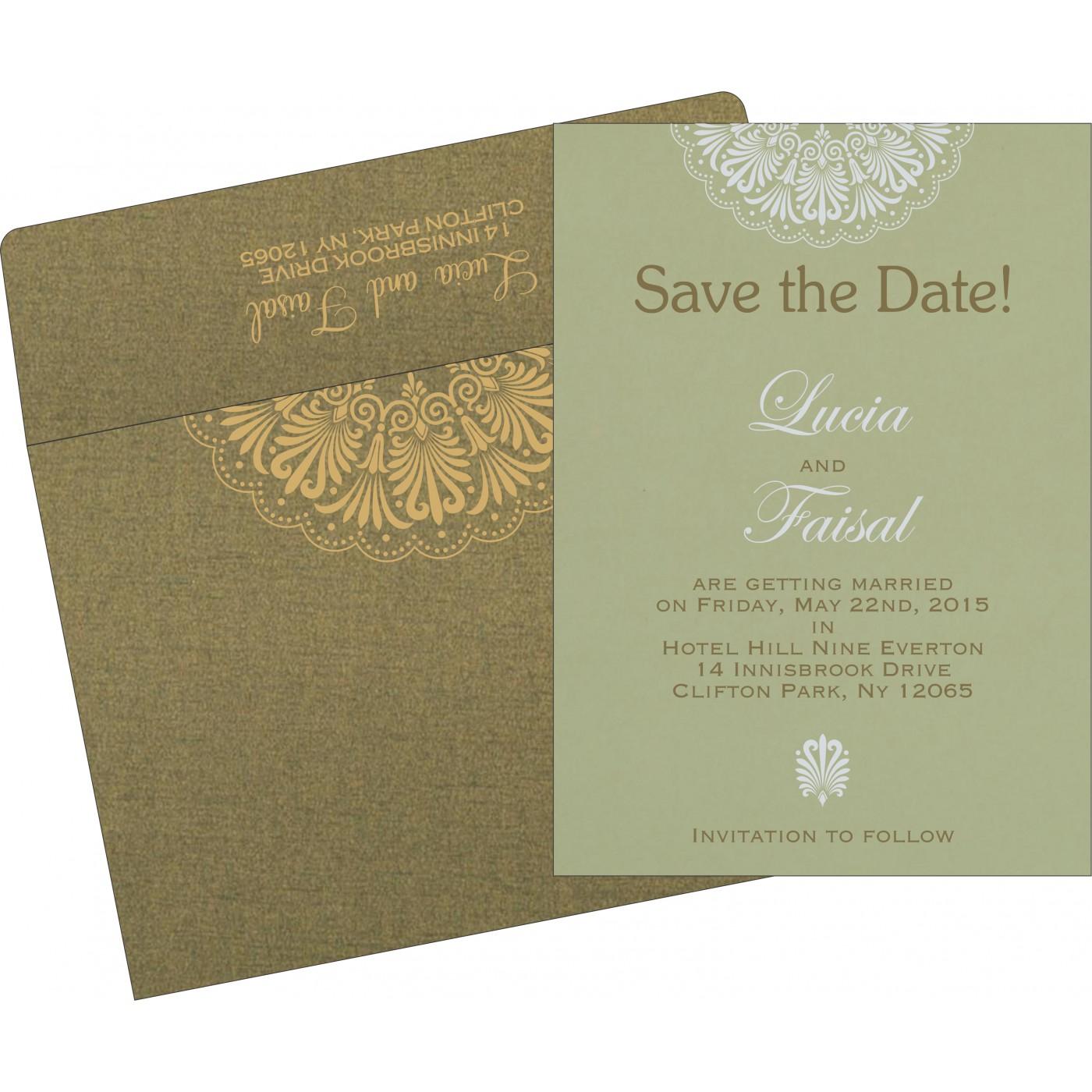 Save The Date Cards : STD-8238K - 123WeddingCards