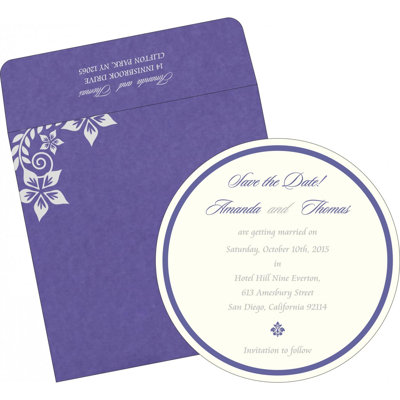 Save The Date Cards : STD-8240B - 123WeddingCards