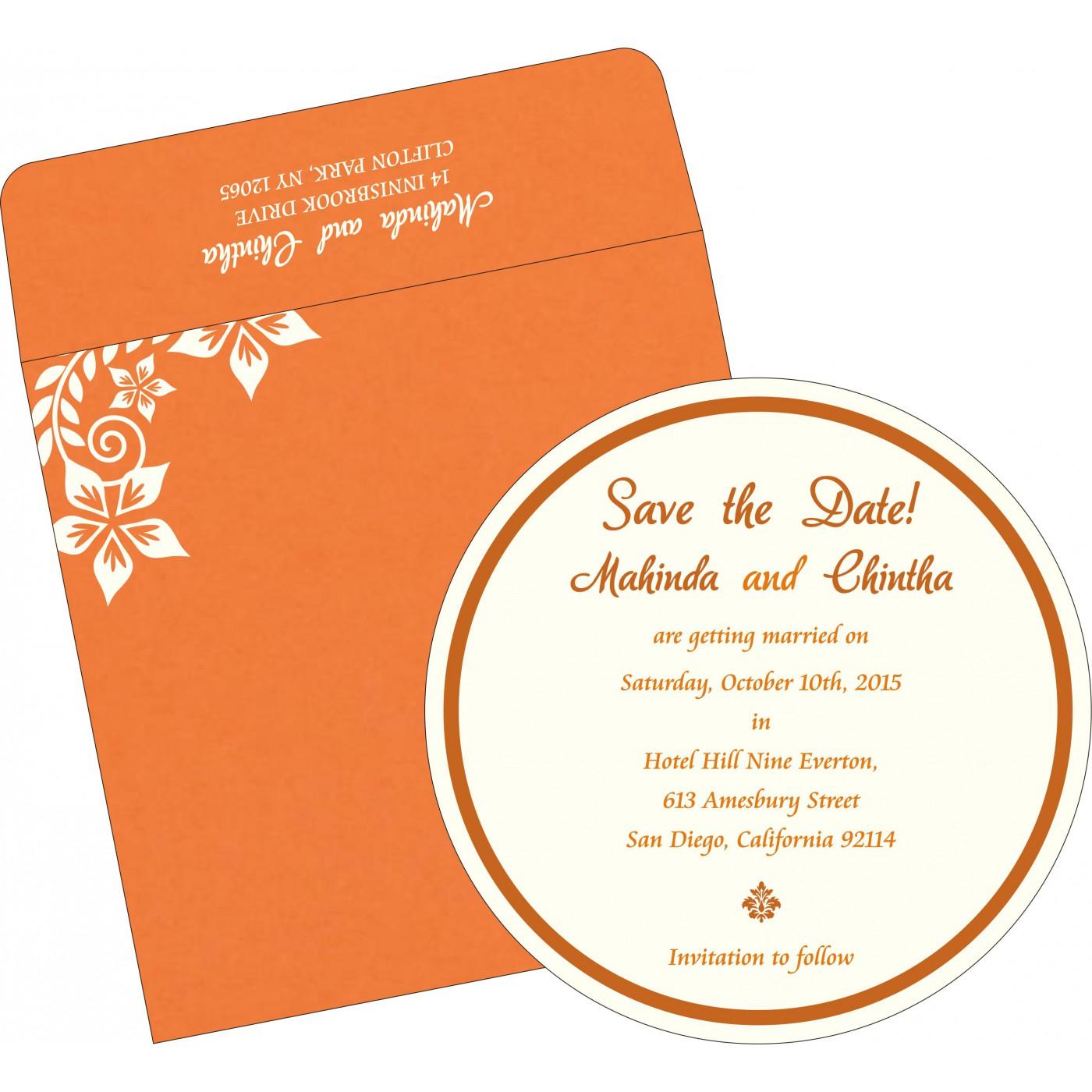 Save The Date Cards : STD-8240K - 123WeddingCards