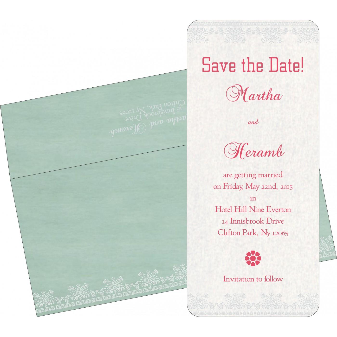 Save The Date Cards : STD-8241C - 123WeddingCards