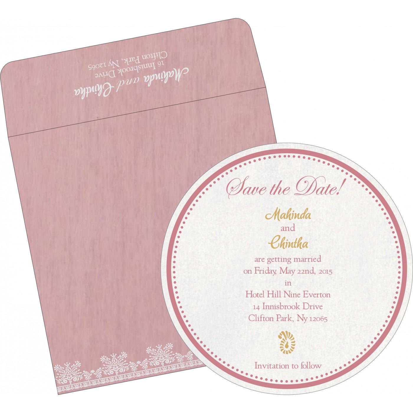 Save The Date Cards : STD-8241E - 123WeddingCards
