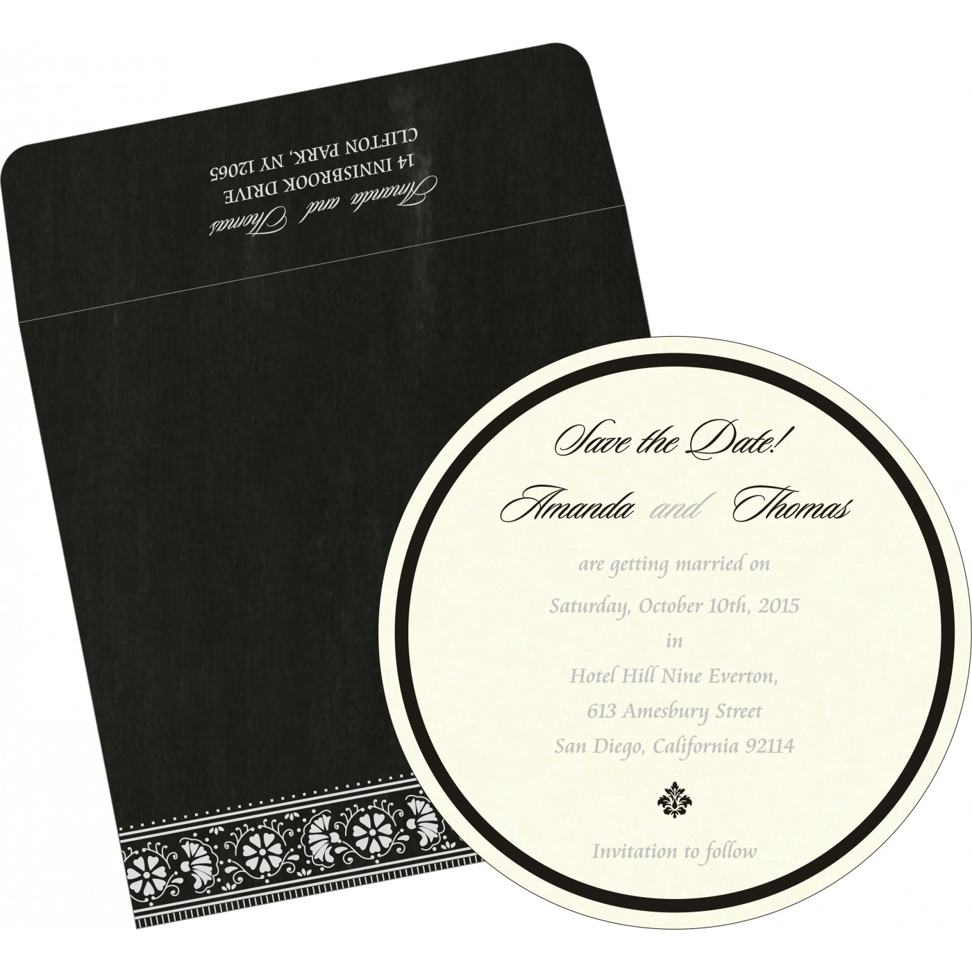 Save The Date Cards : STD-8242B - 123WeddingCards