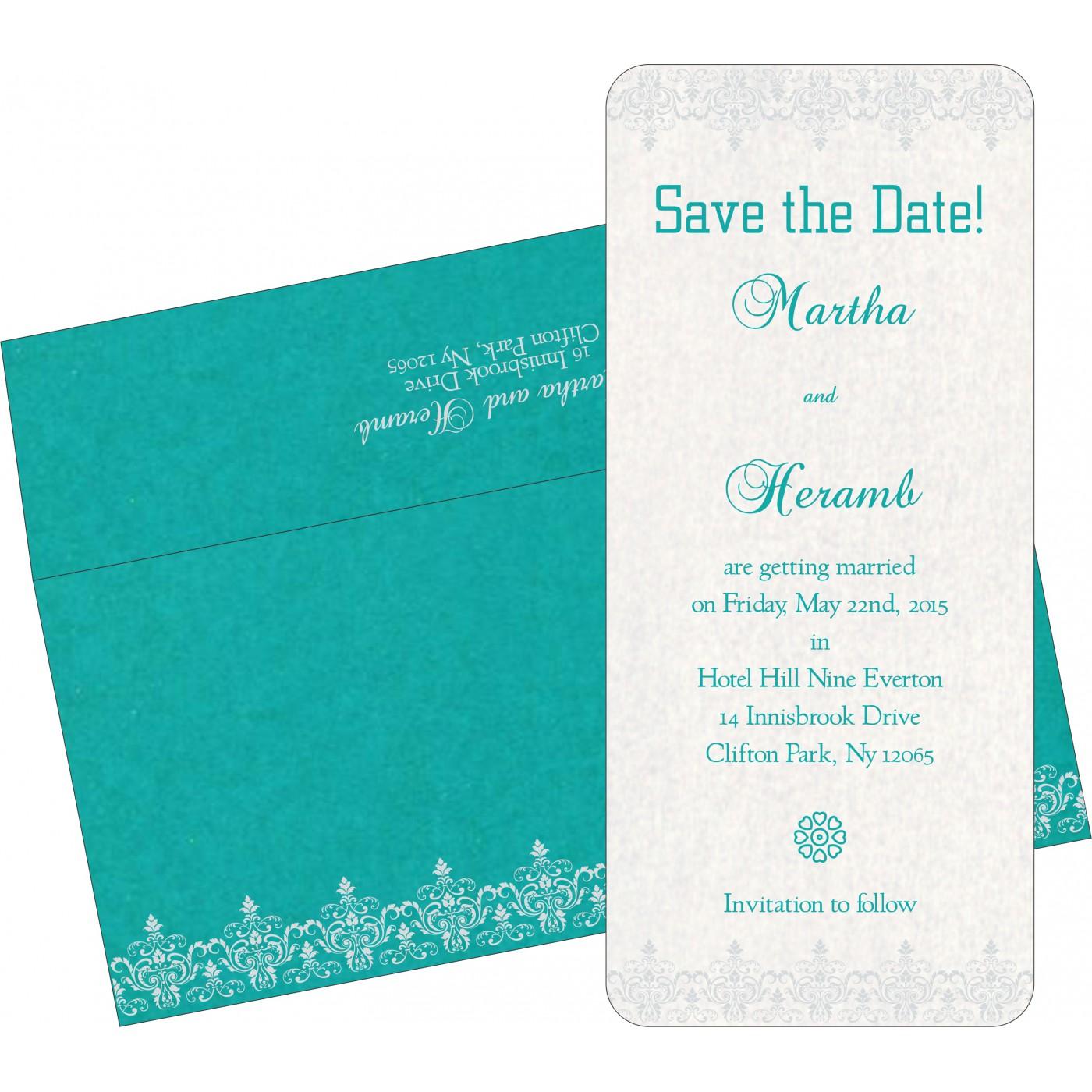 Save The Date Cards : STD-8244C - 123WeddingCards