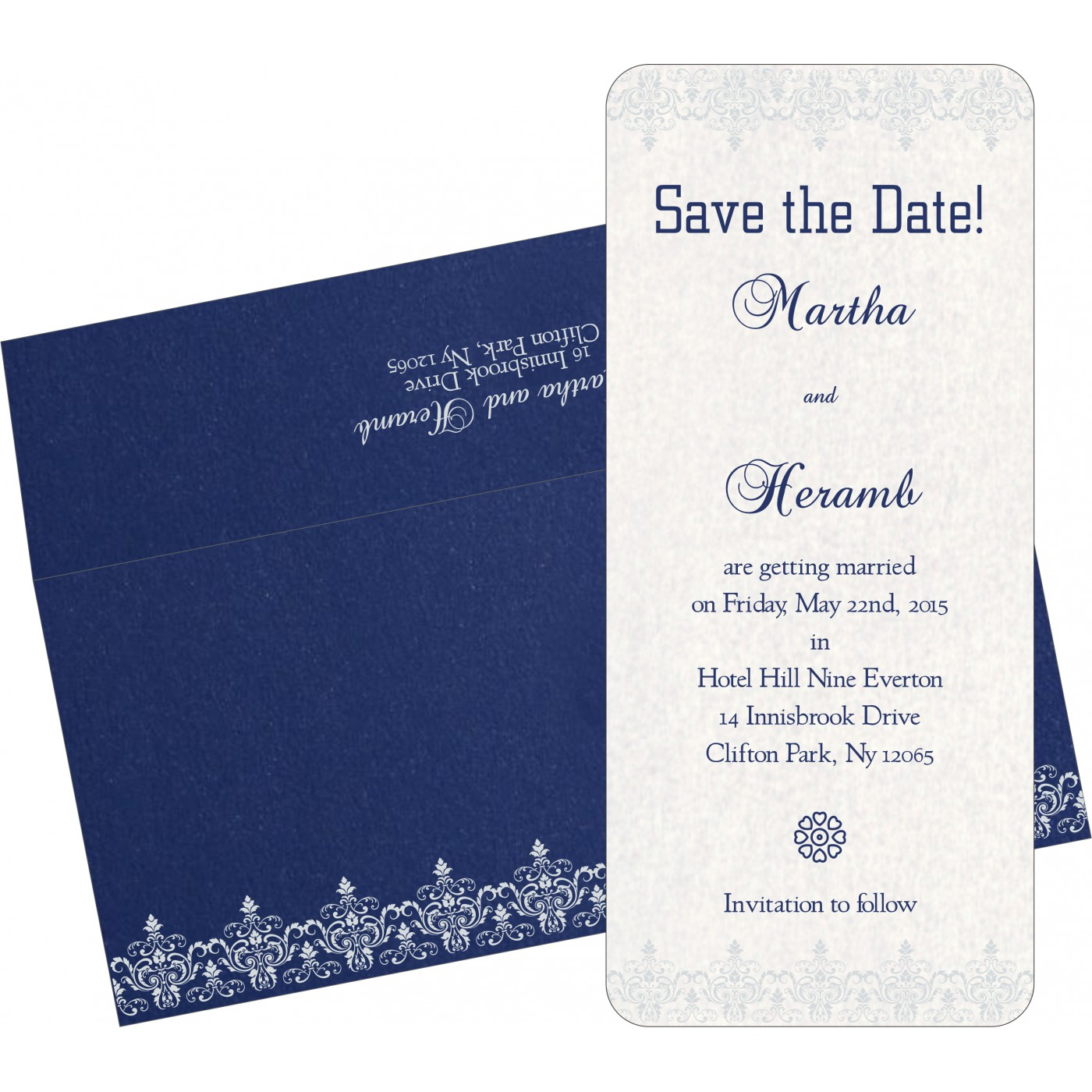 Save The Date Cards : STD-8244K - 123WeddingCards