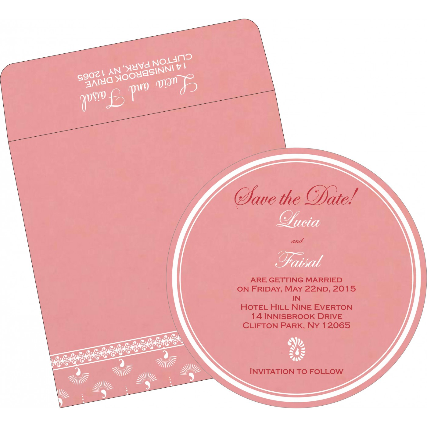Save The Date Cards : STD-8247A - 123WeddingCards