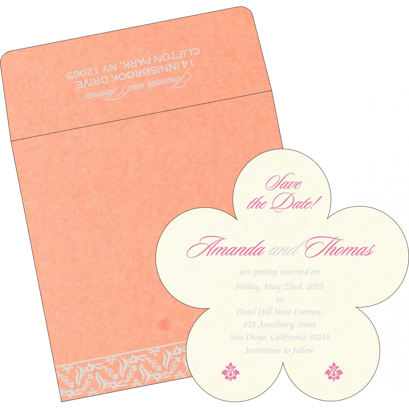 Save The Date Cards : STD-8249H - 123WeddingCards