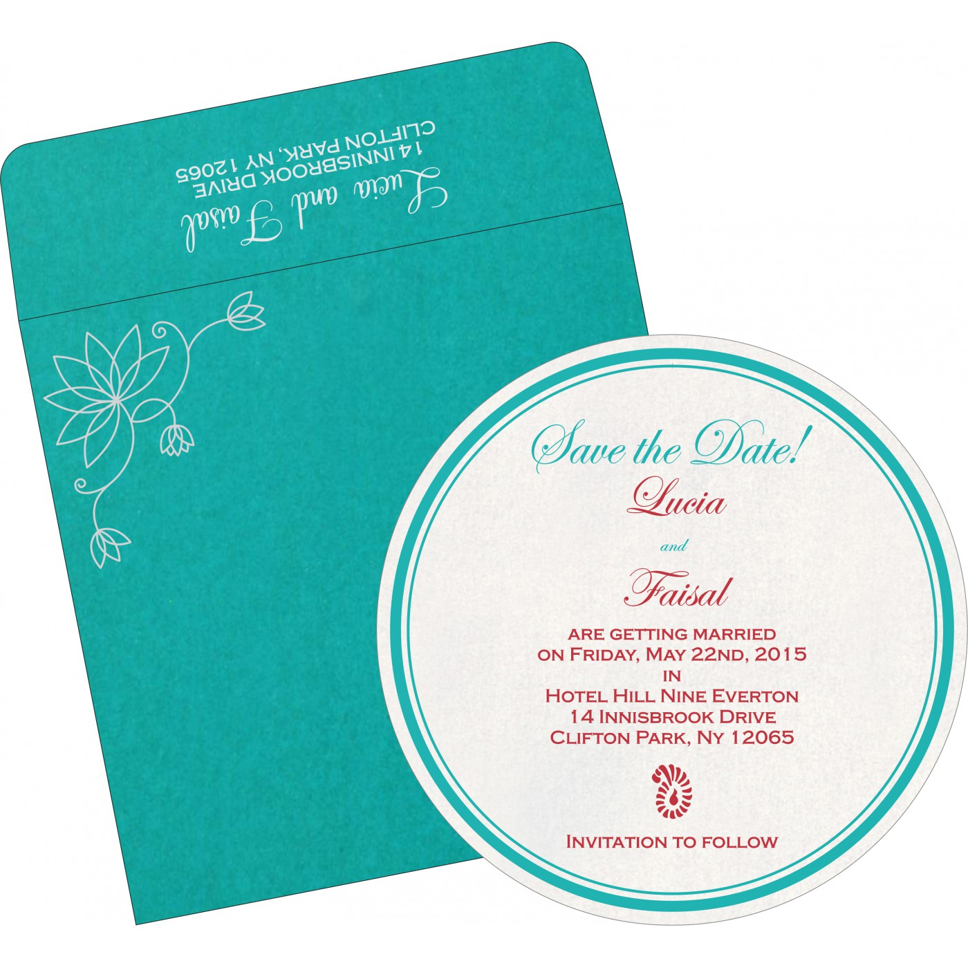 Save The Date Cards : STD-8251A - 123WeddingCards