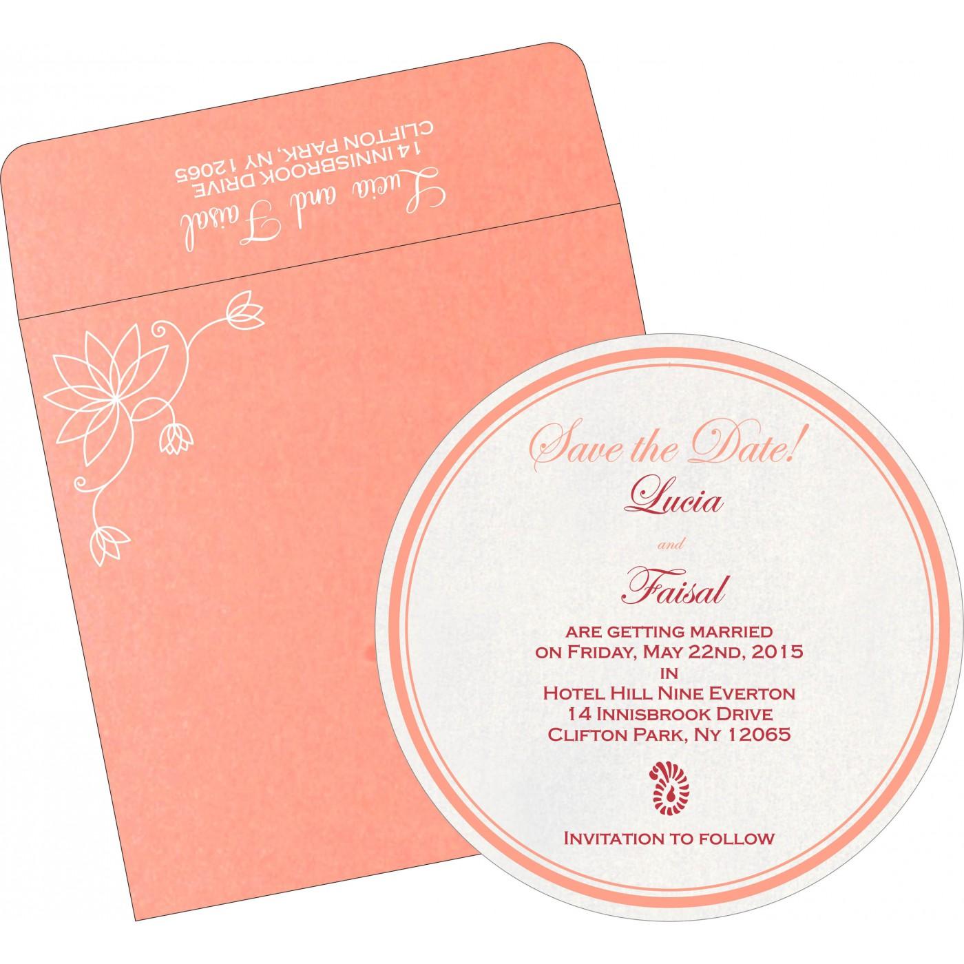 Save The Date Cards : STD-8251I - 123WeddingCards