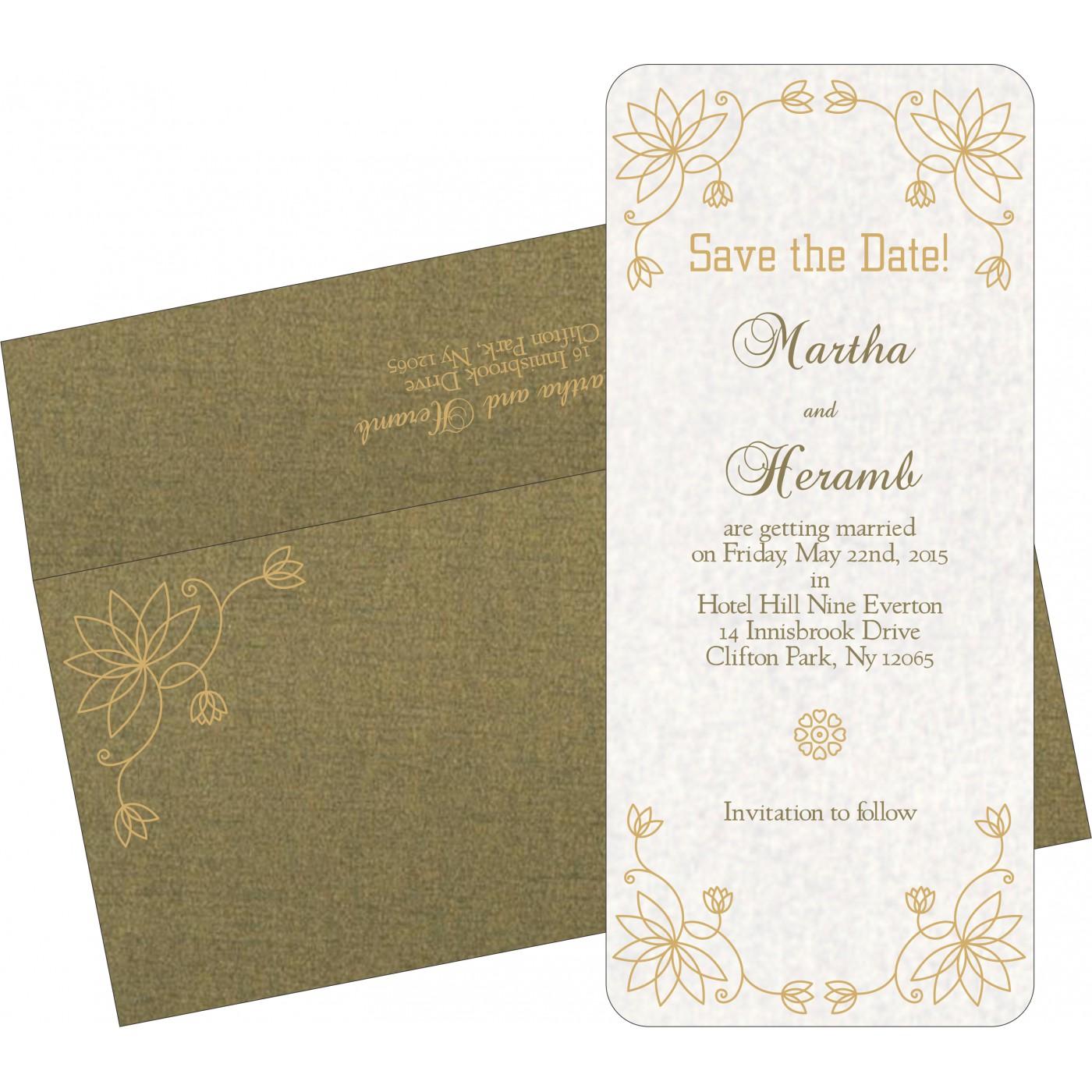 Save The Date Cards : STD-8251K - 123WeddingCards